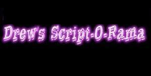 Drews script o rama